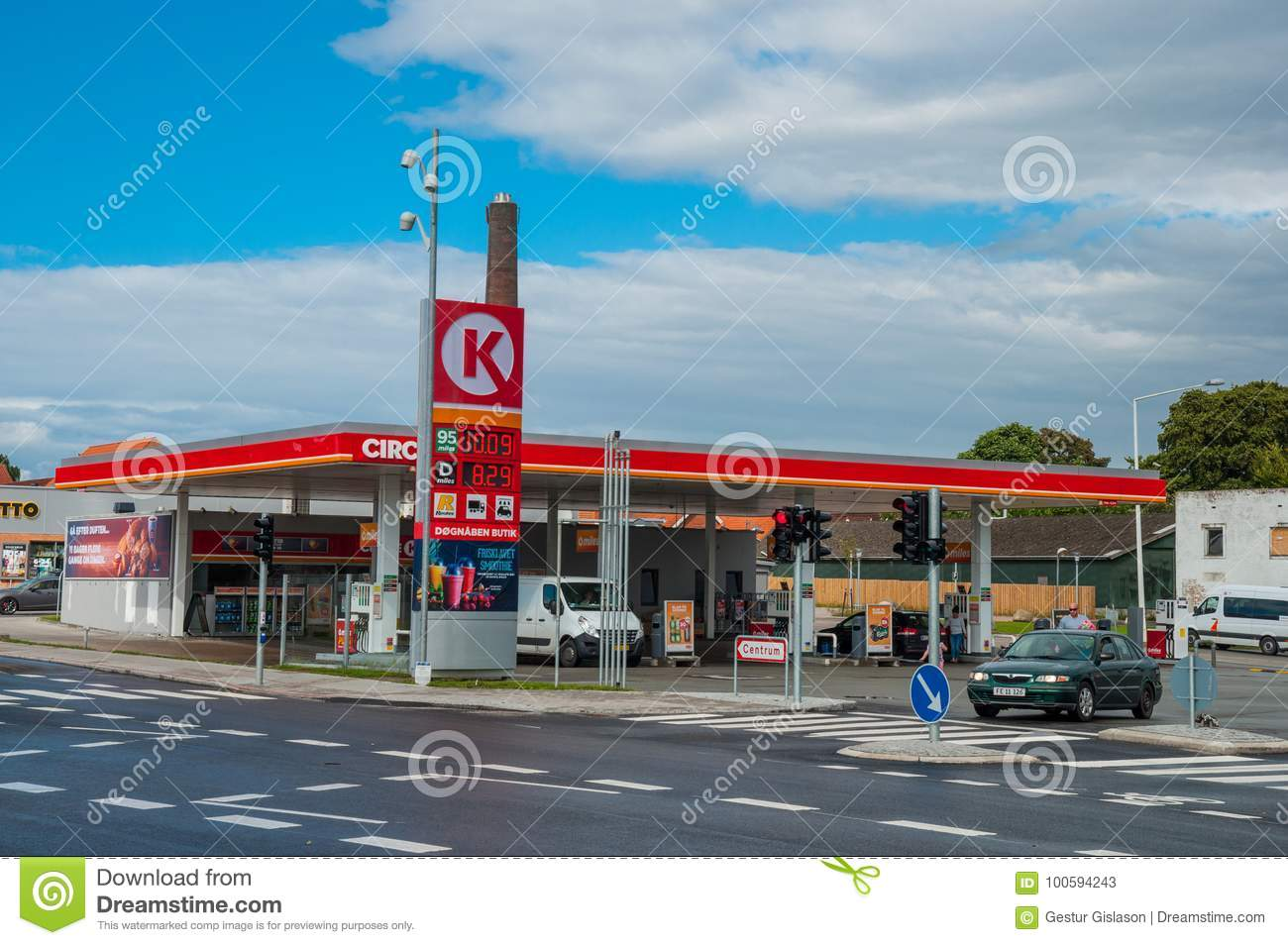 Circle K Gas Station editorial stock photo  Image of service