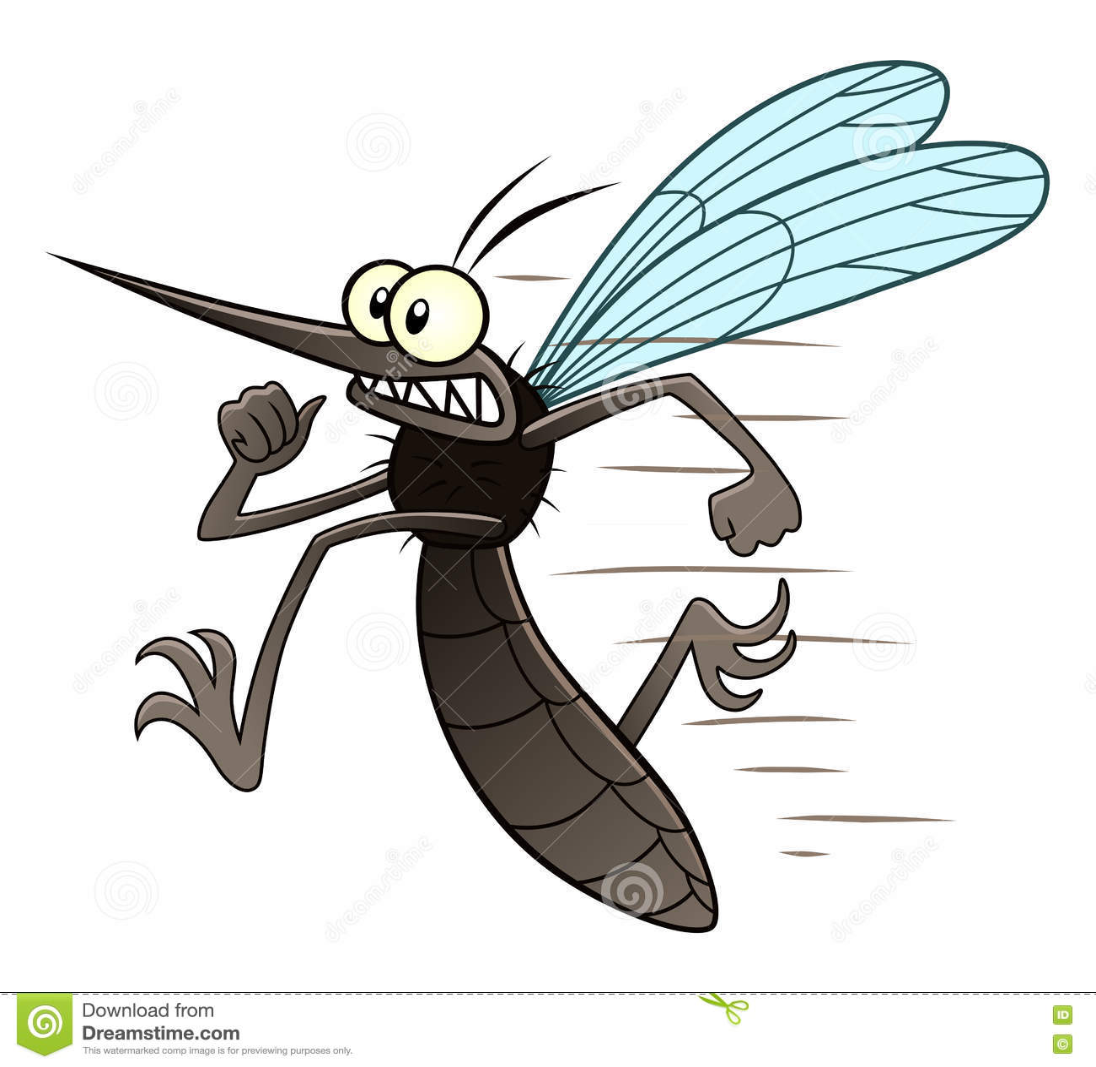Rinnande mygga