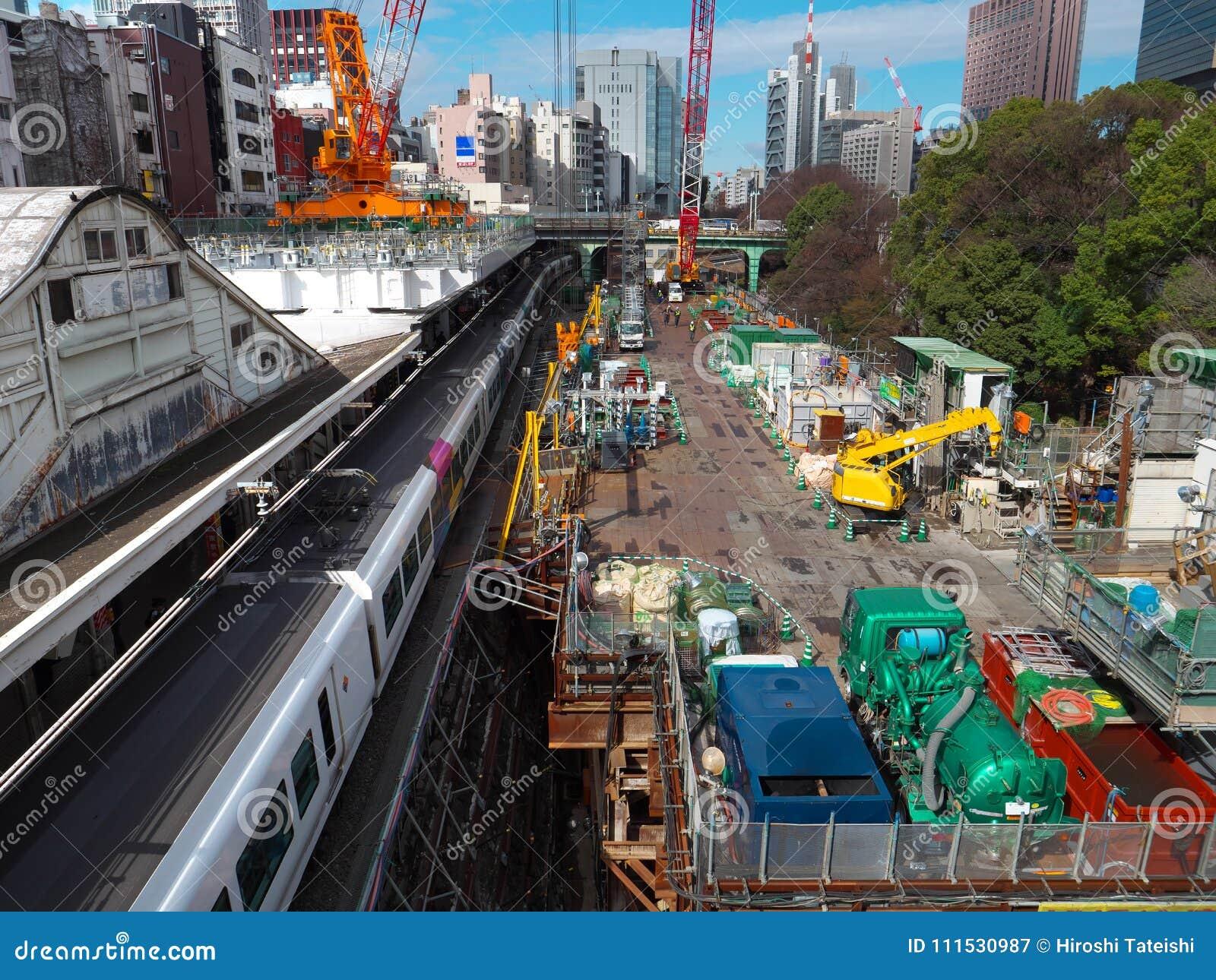 Rinnovamento alla stazione di Ochanomizu