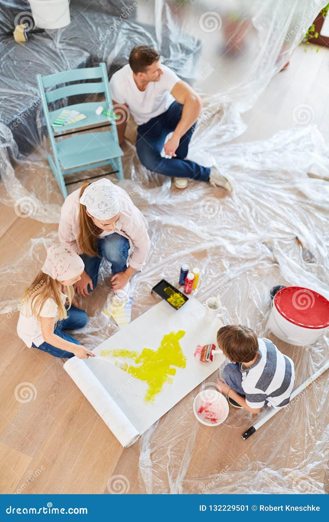 Carta Da Parati O Pittura.Rinnovamento Della Carta Da Parati Della Pittura Dei Bambini A Casa