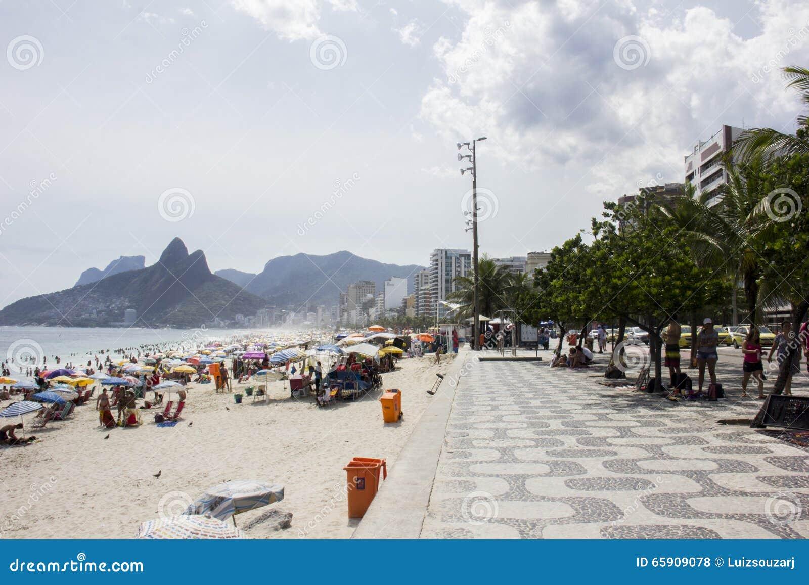 Rio Carnival aglomerou praias e dias ensolarados