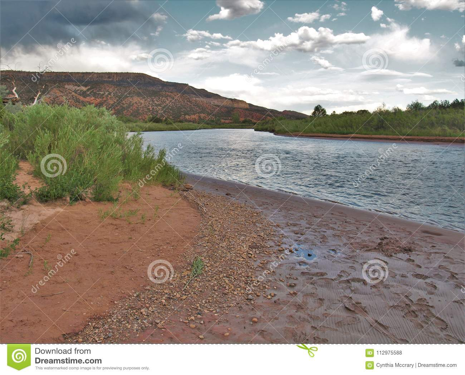 Rio Chama near Abiquiu, New Mexico