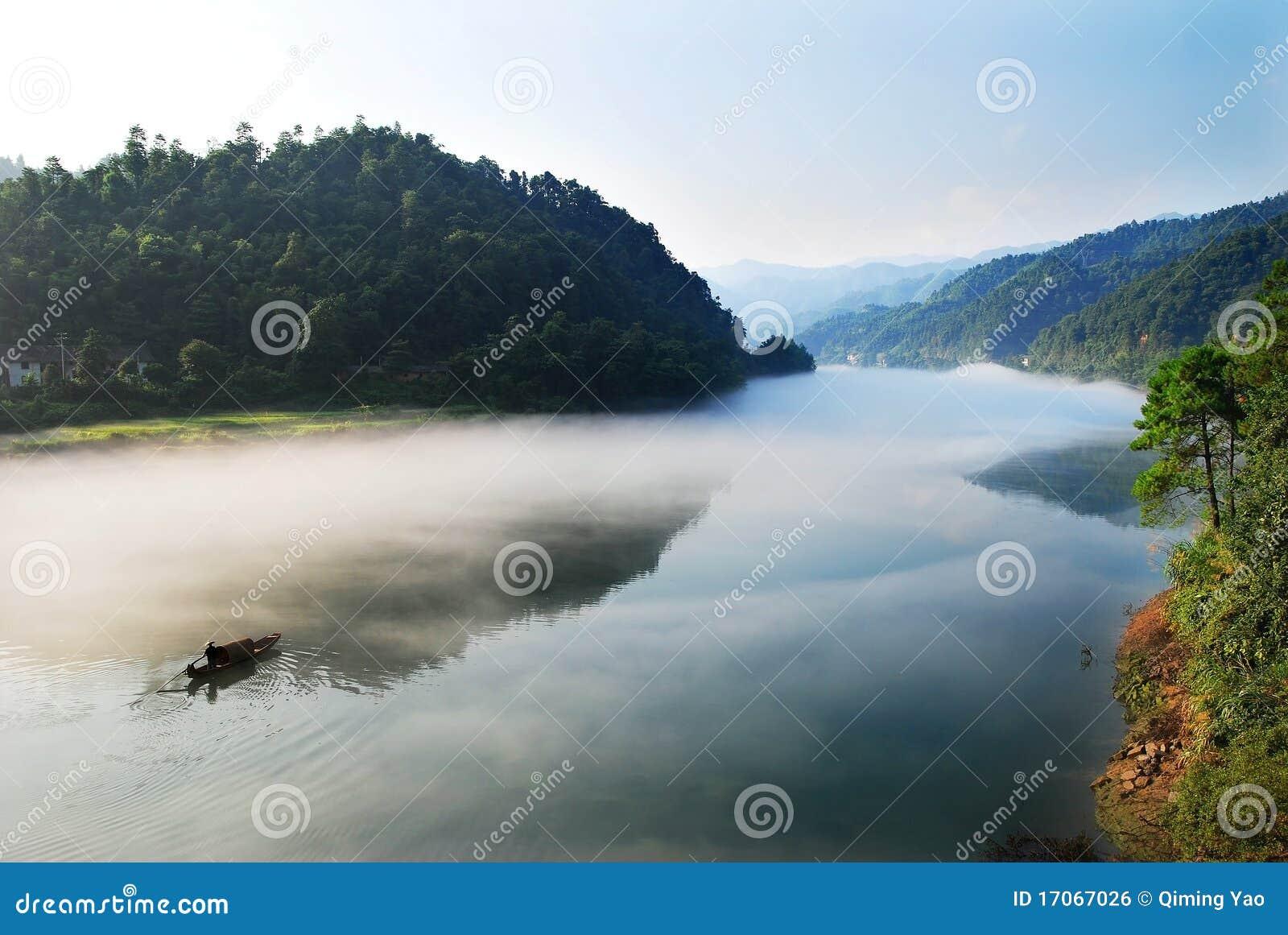 Rio da manhã