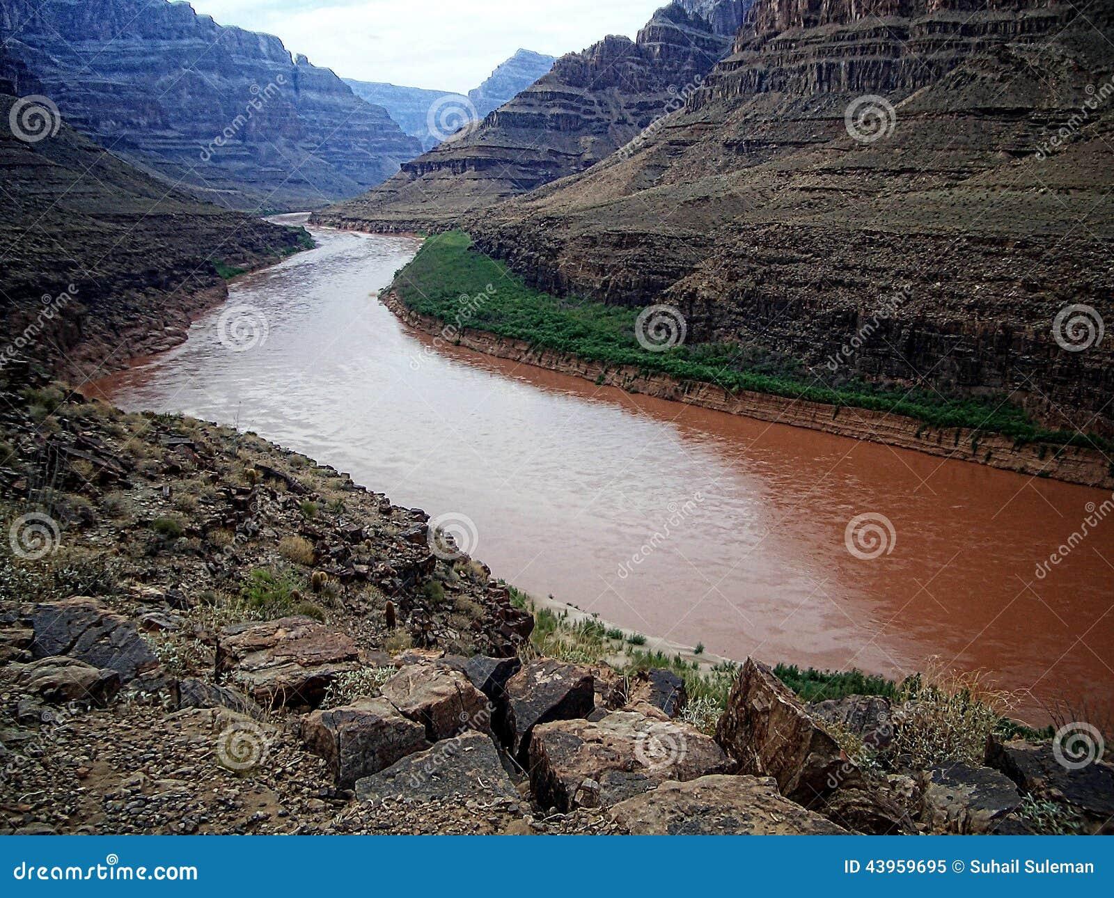Rio de Colorado, garganta grande