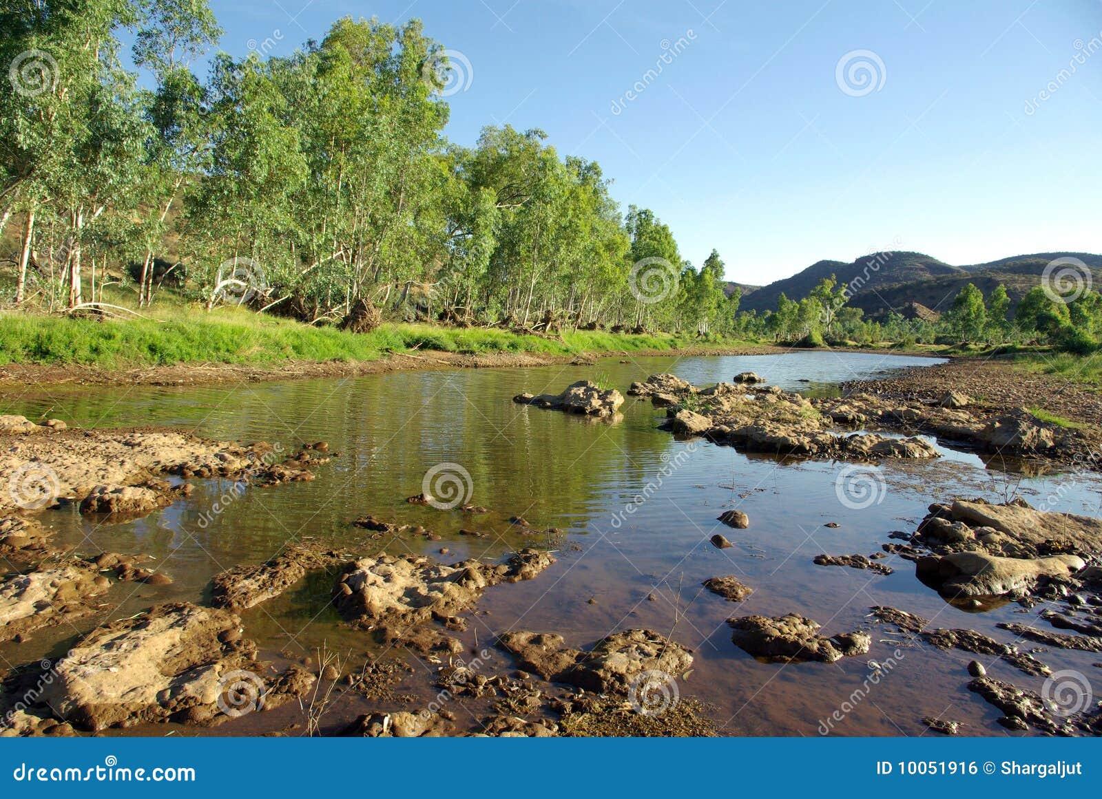 Rio de Finke, Austrália
