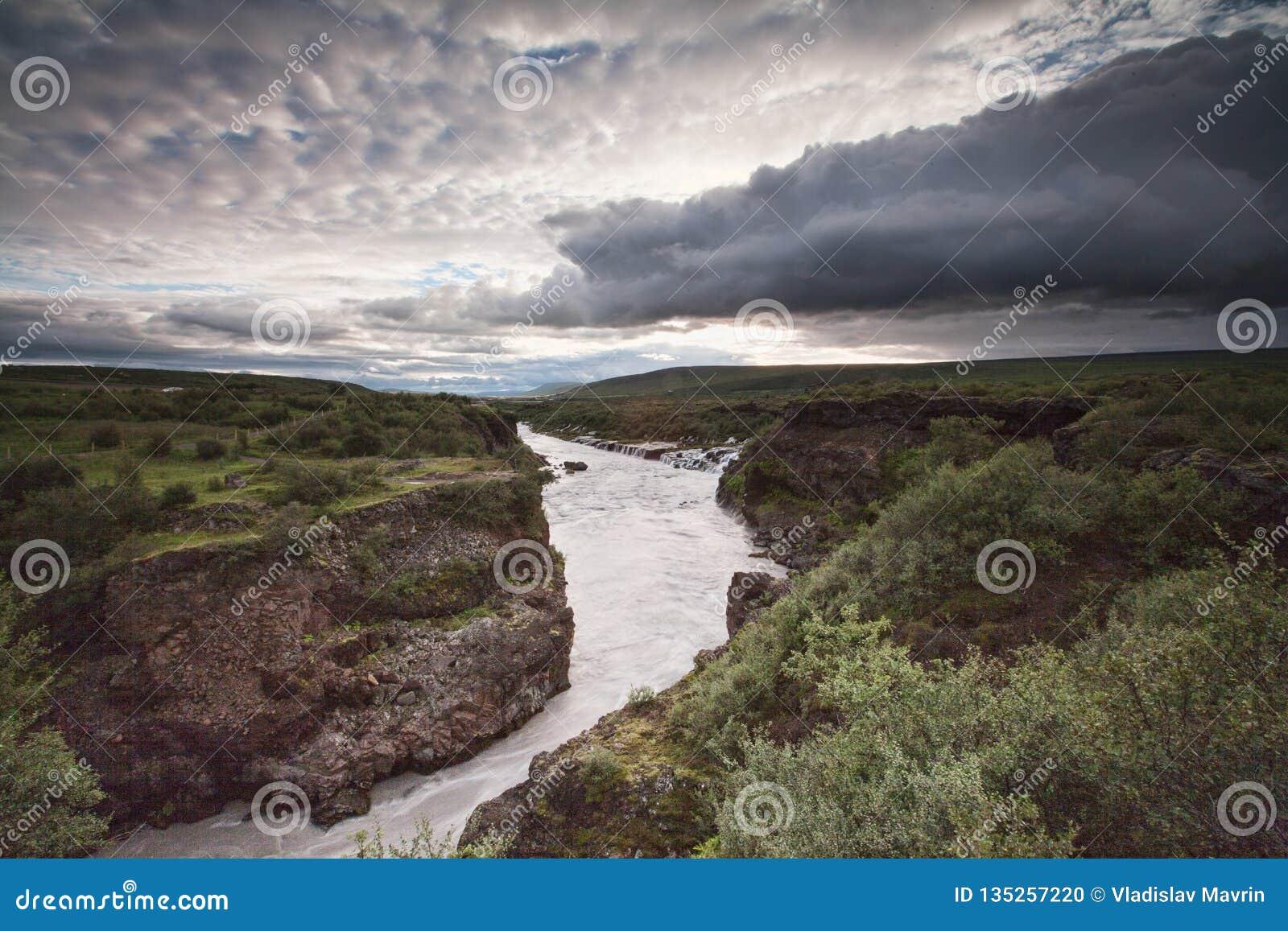 Rio de Hvita, Islândia