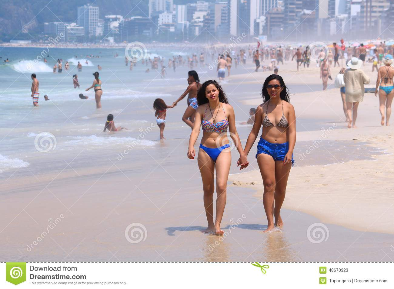 Brazilian Beach With Naked People