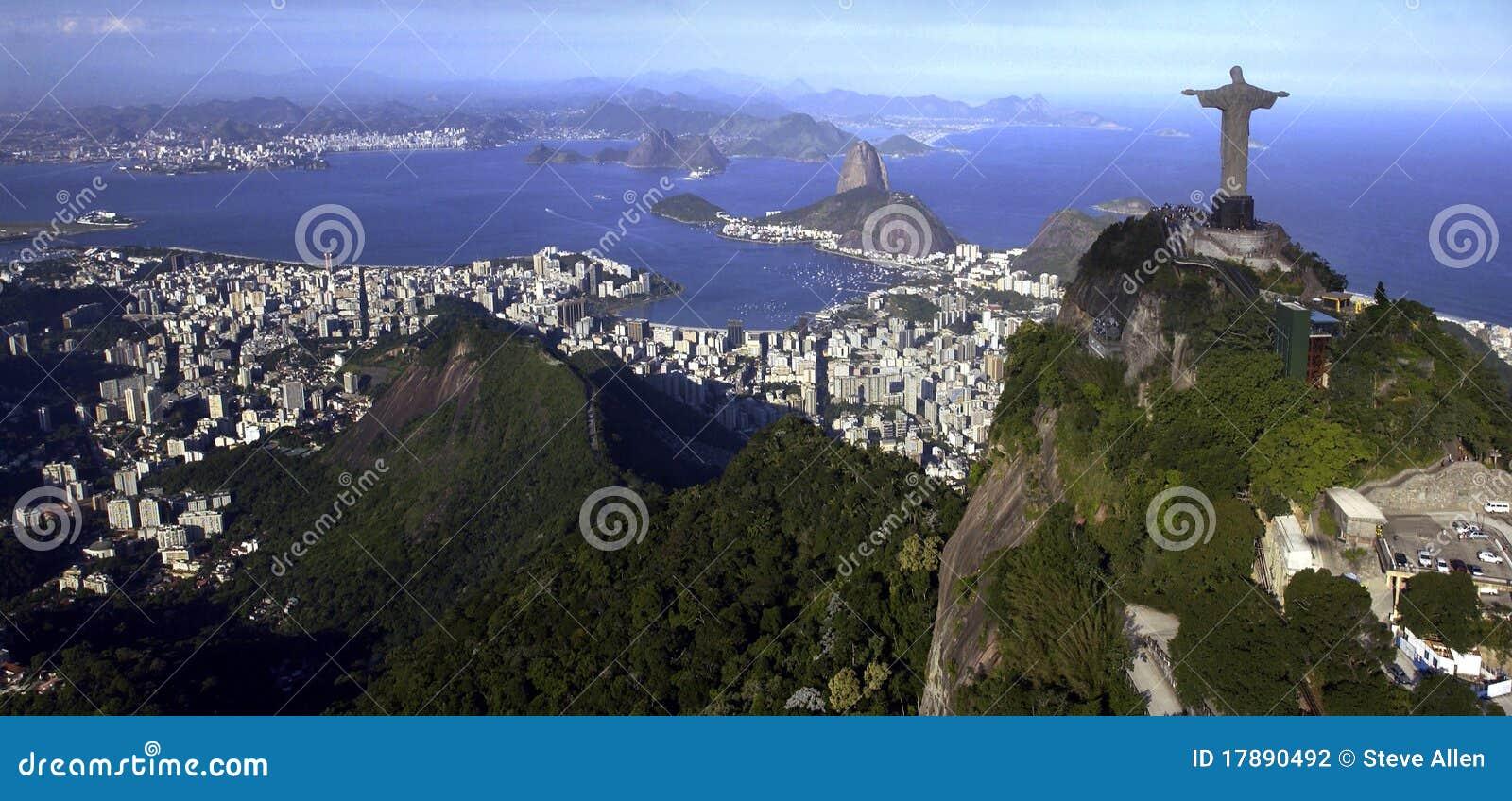 Rio de Janeiro - Christ il Redeemer - il Brasile