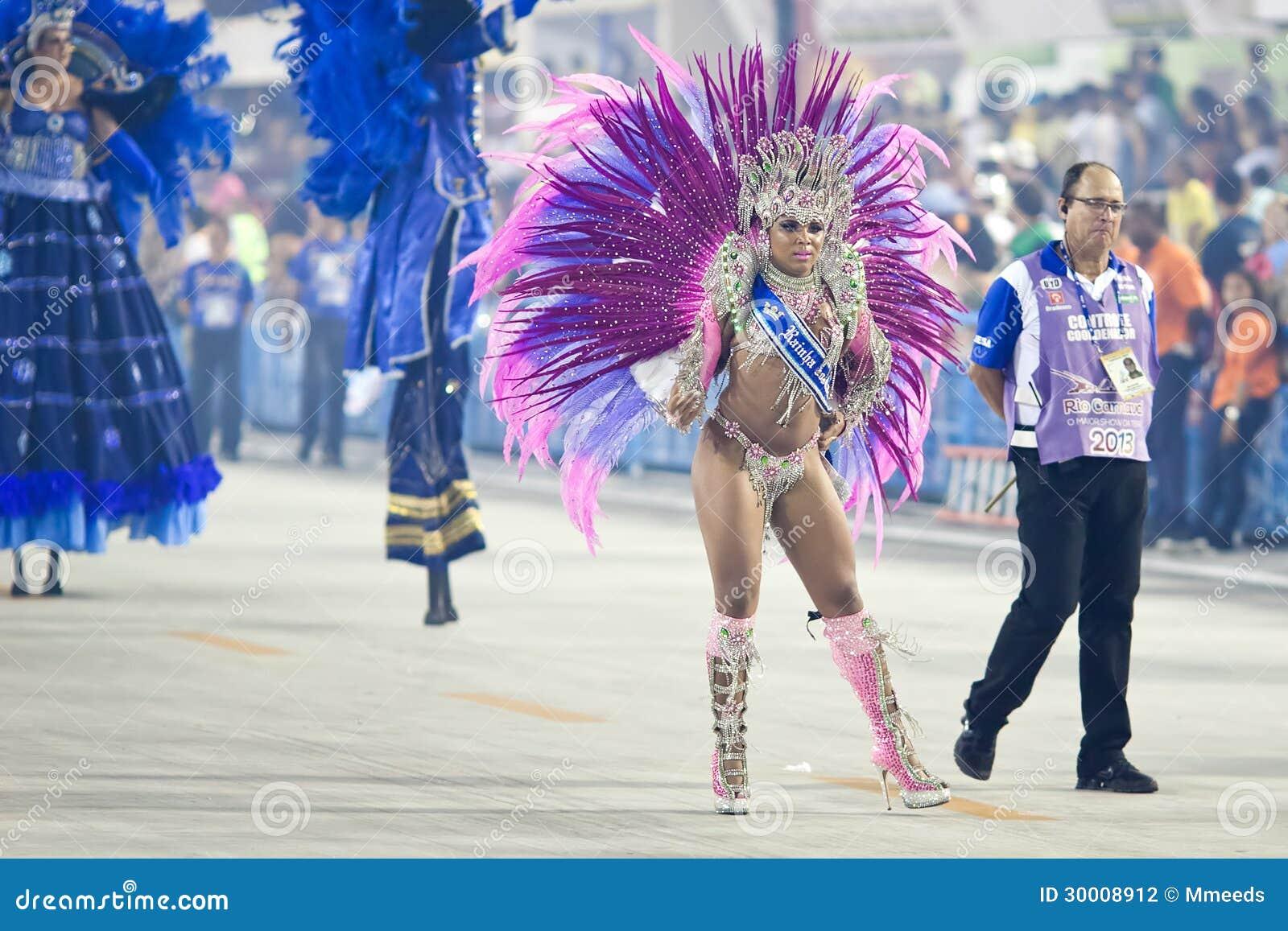 RIO DE JANEIRO , 10 FÉVRIER  Une femme dans la danse et le péché de