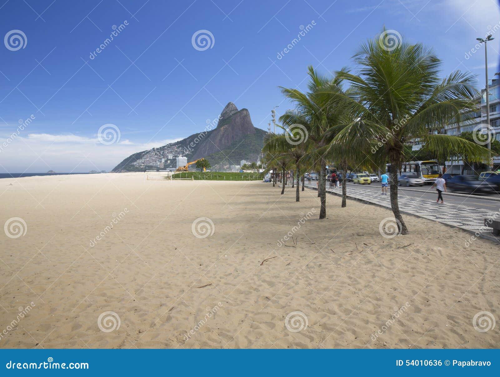 Rio de Janeiro Ipanema Beach Brazil