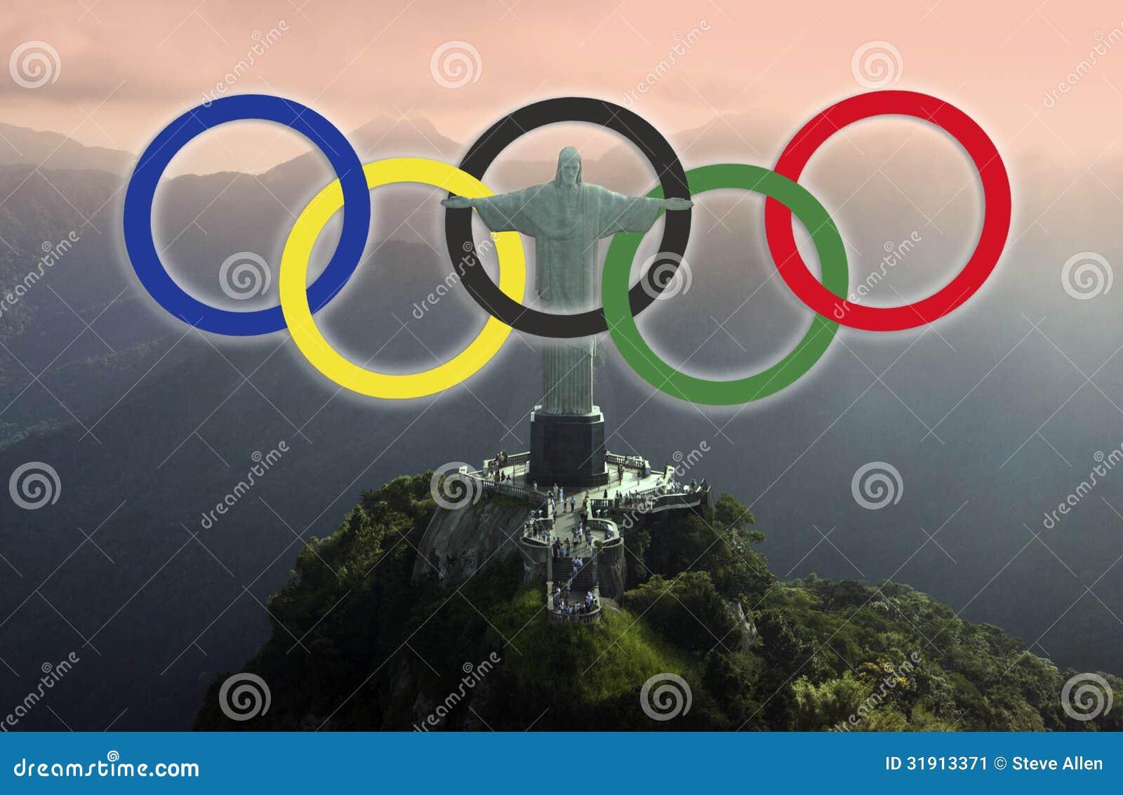 Olympics Rings Rio De Janeiro