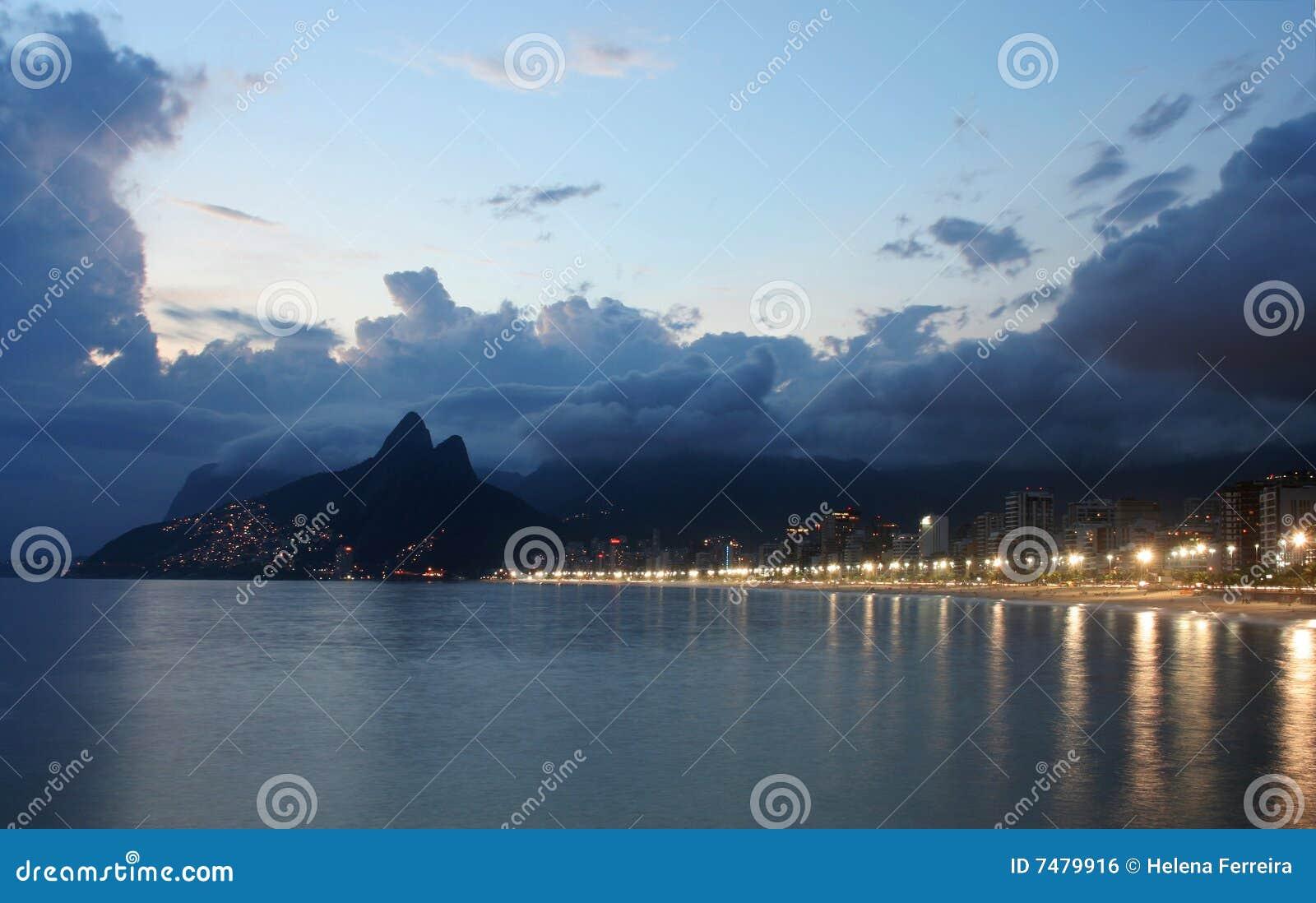 Rio de Janeiro, praia de Ipanema