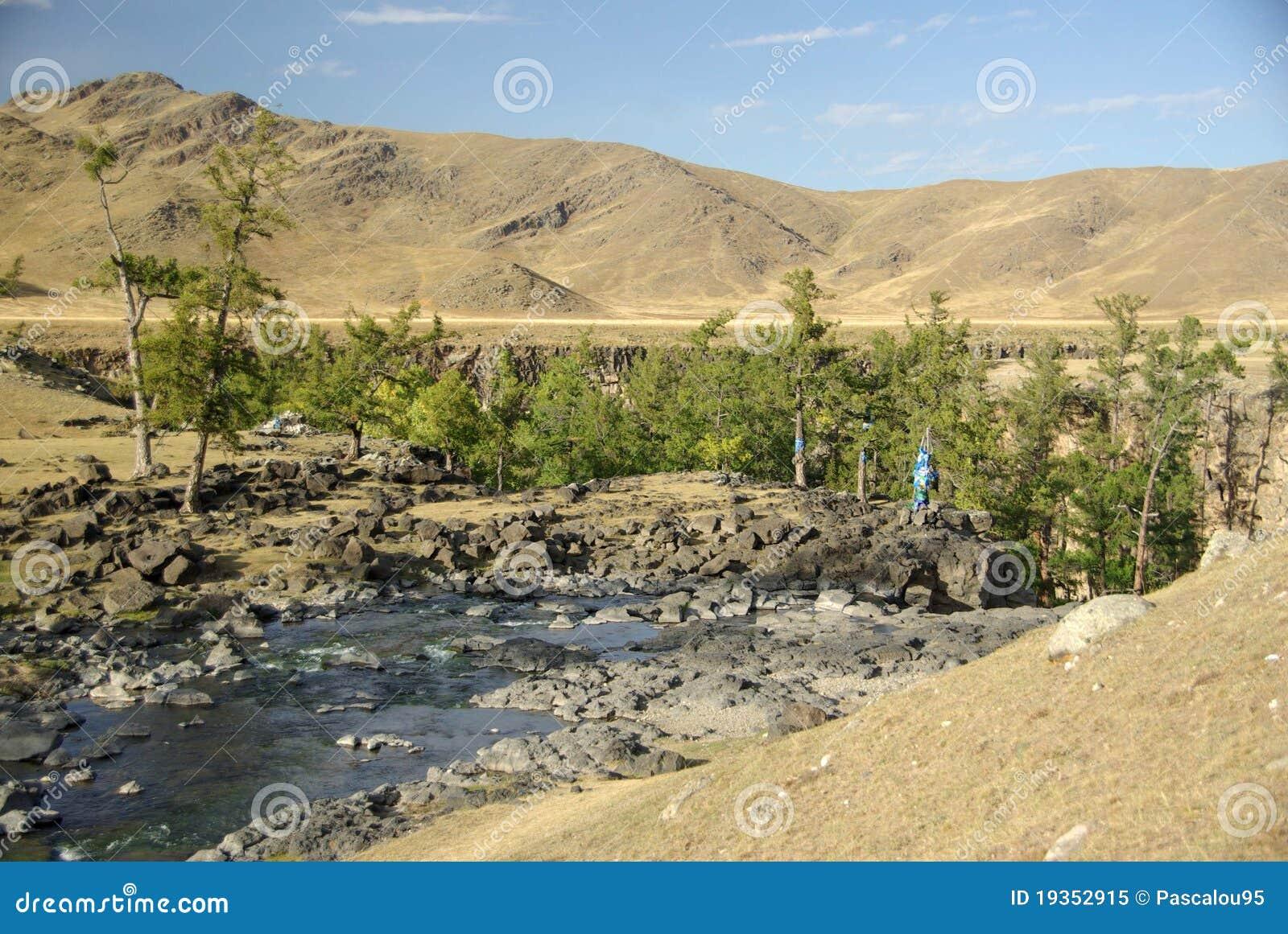 Rio em Mongolia