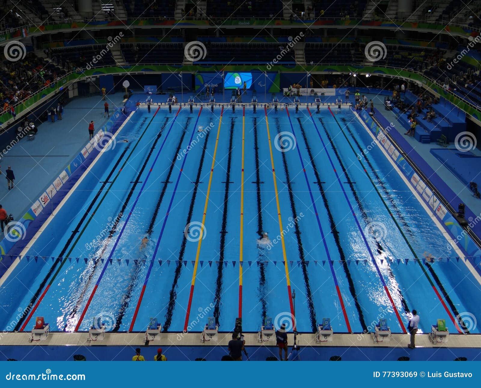 Rio 2016 - stadio acquatico olimpico