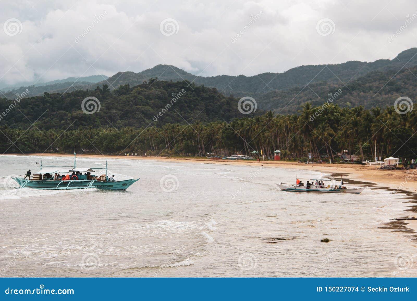 Rio subterrâneo em Puerto Princesa