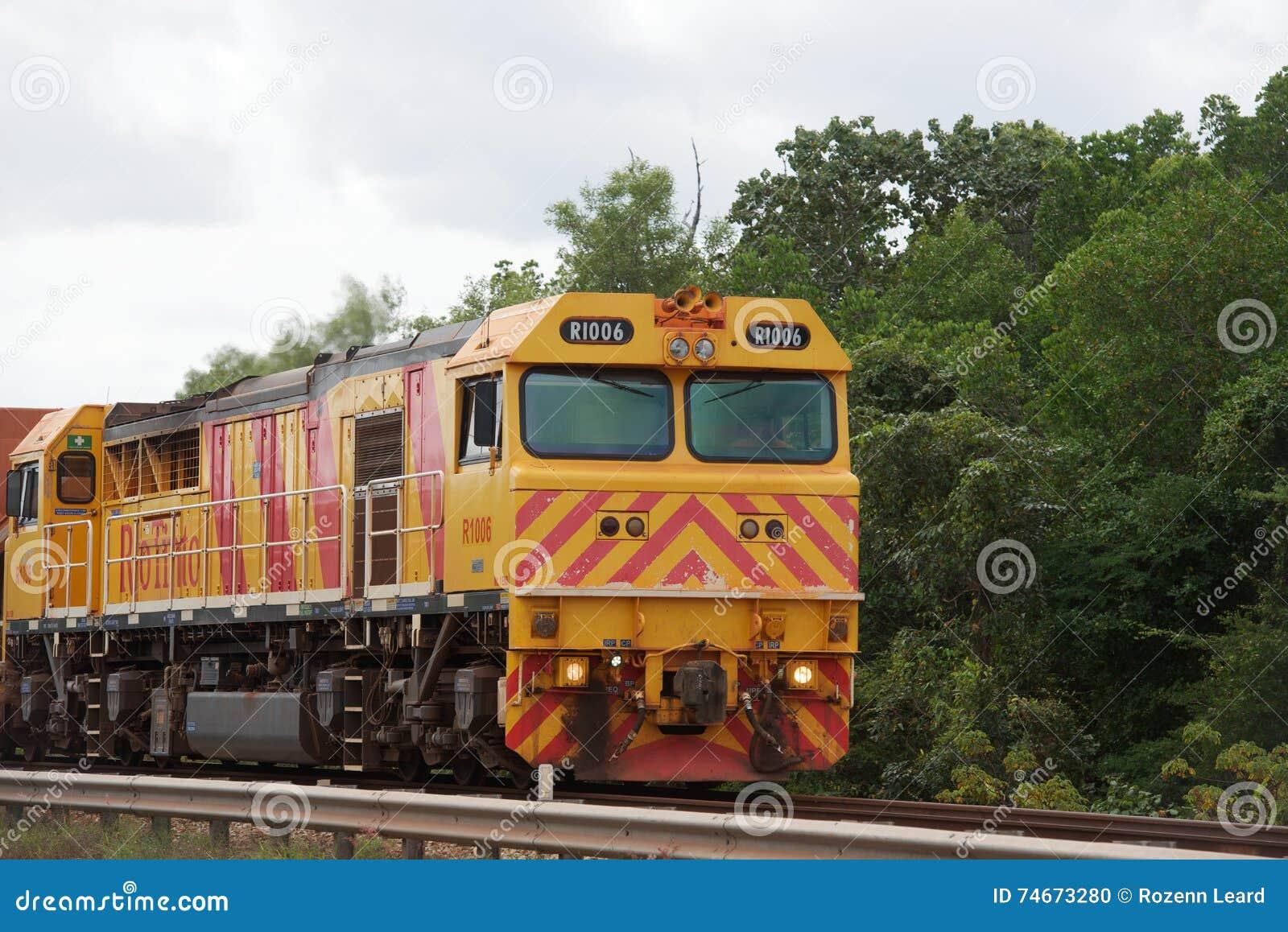 Rio Tinto Train editorial image  Image of transport, jobs