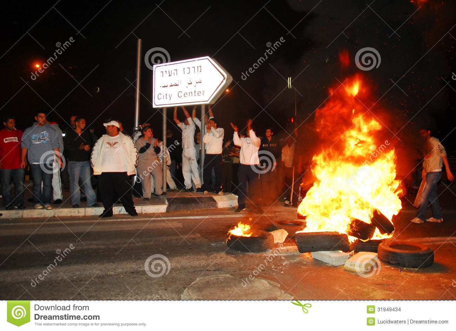 Download Riot editorial stock image. Image of demonstrators, demonstration - 31949434
