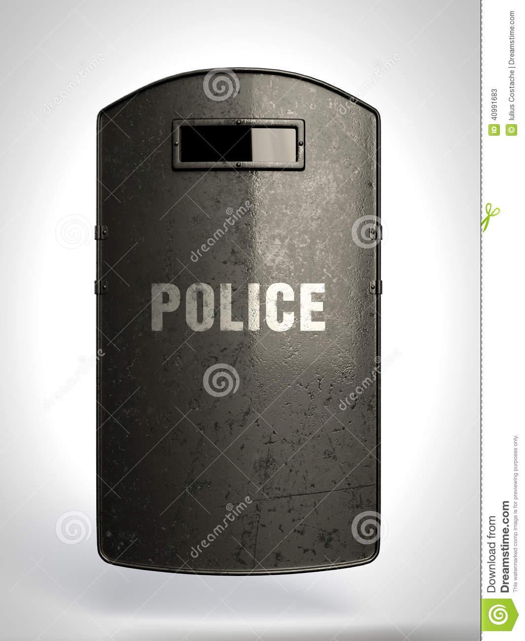 Riot Shield Stock Image Image Of Power Politics Black 40991683