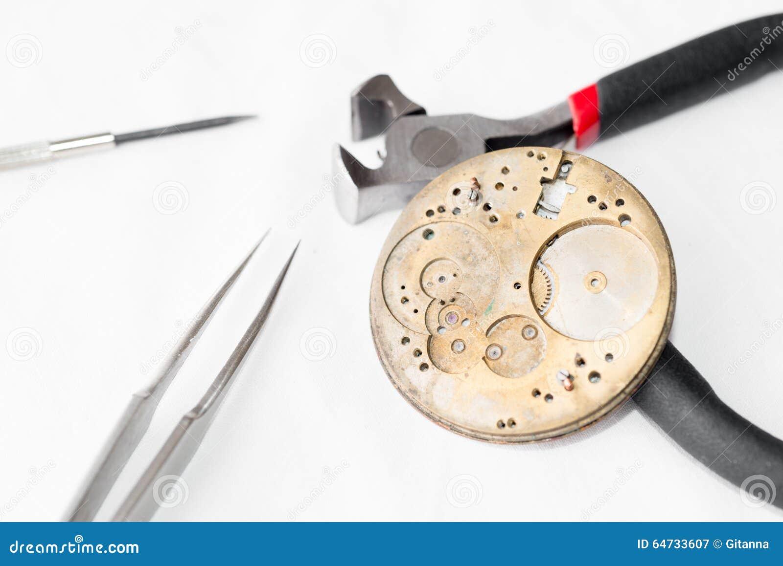 Riparazione e ripristino degli orologi