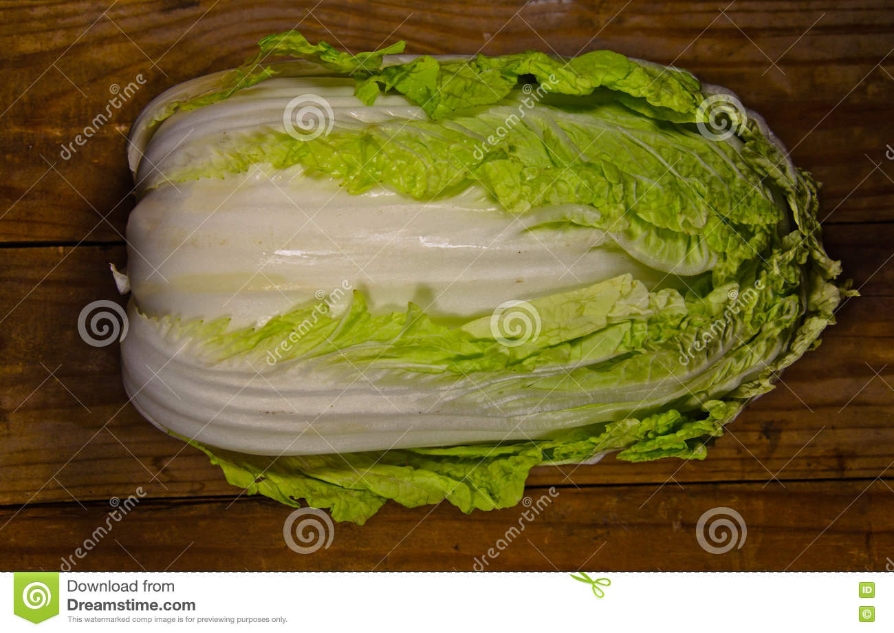 Ripe Vegetable Chinese Cabbage Cartoon Vector ...