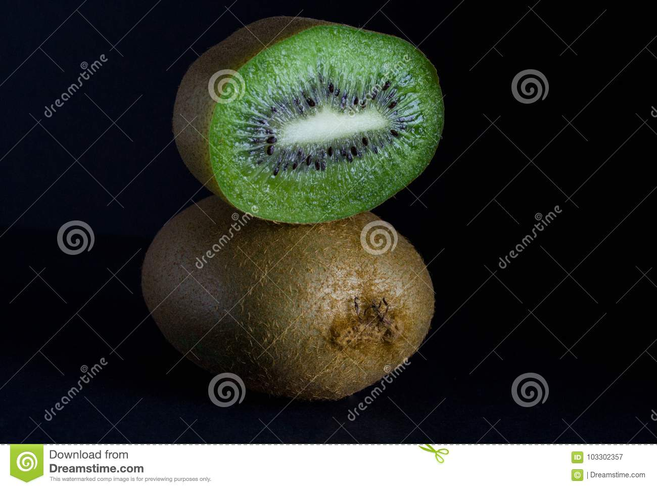 Ripe juicy kiwi