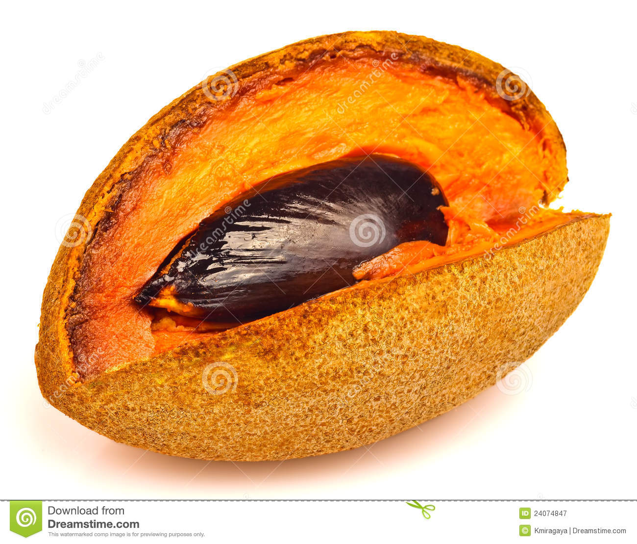 Ripe Mamey Fruit Royalty Free Stock Photography - Image: 24074847