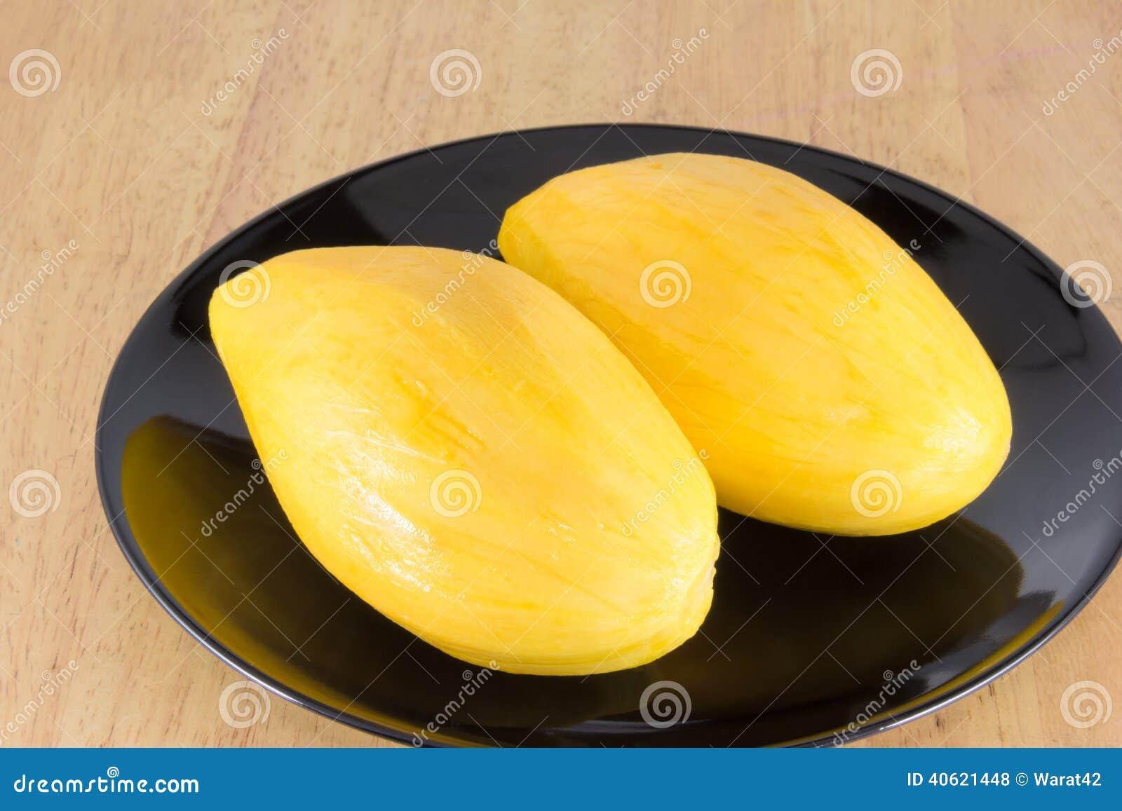 Ripe Mango Ready To Eat Stock Photo