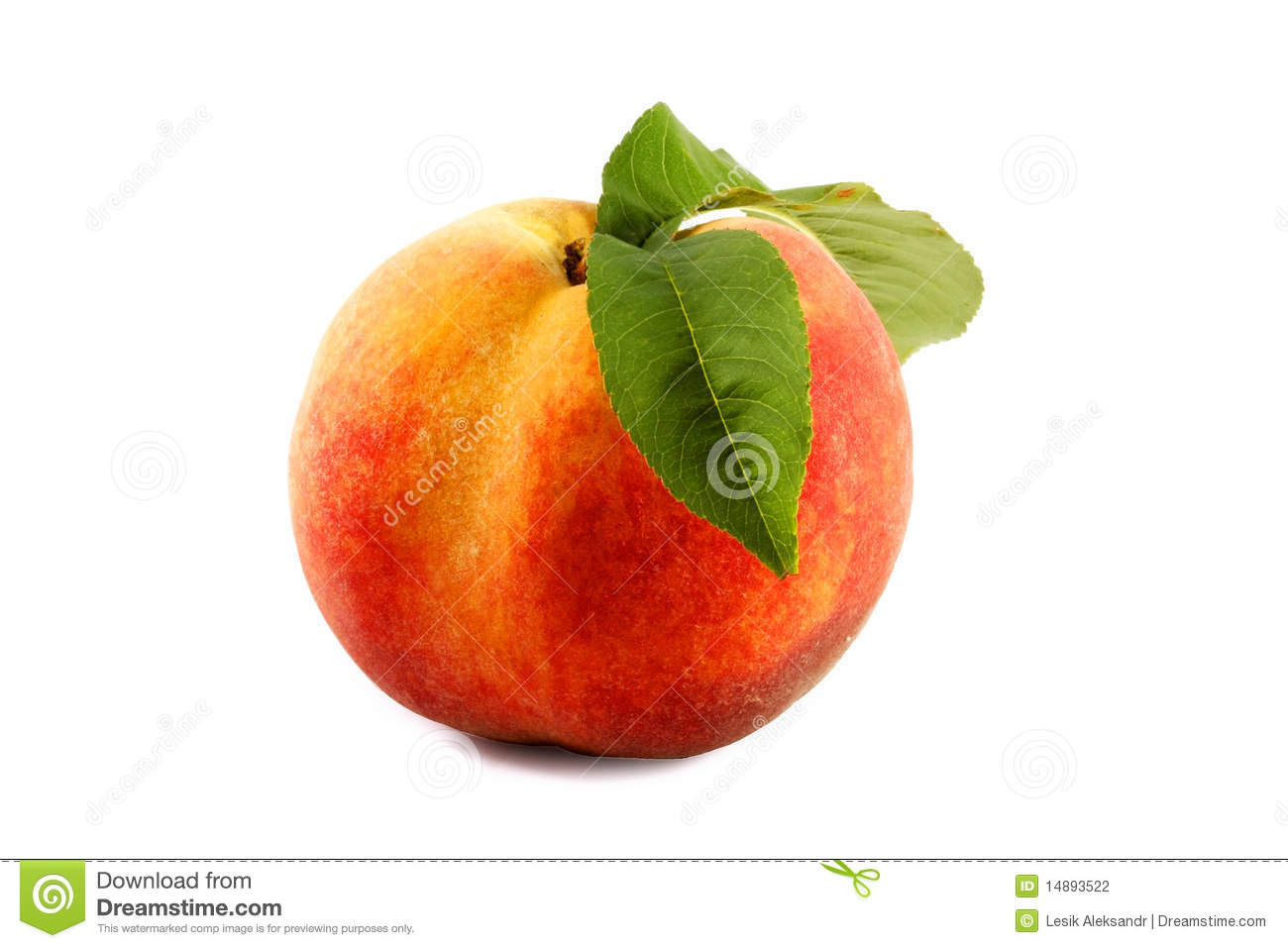 how to tell if peach is ripe