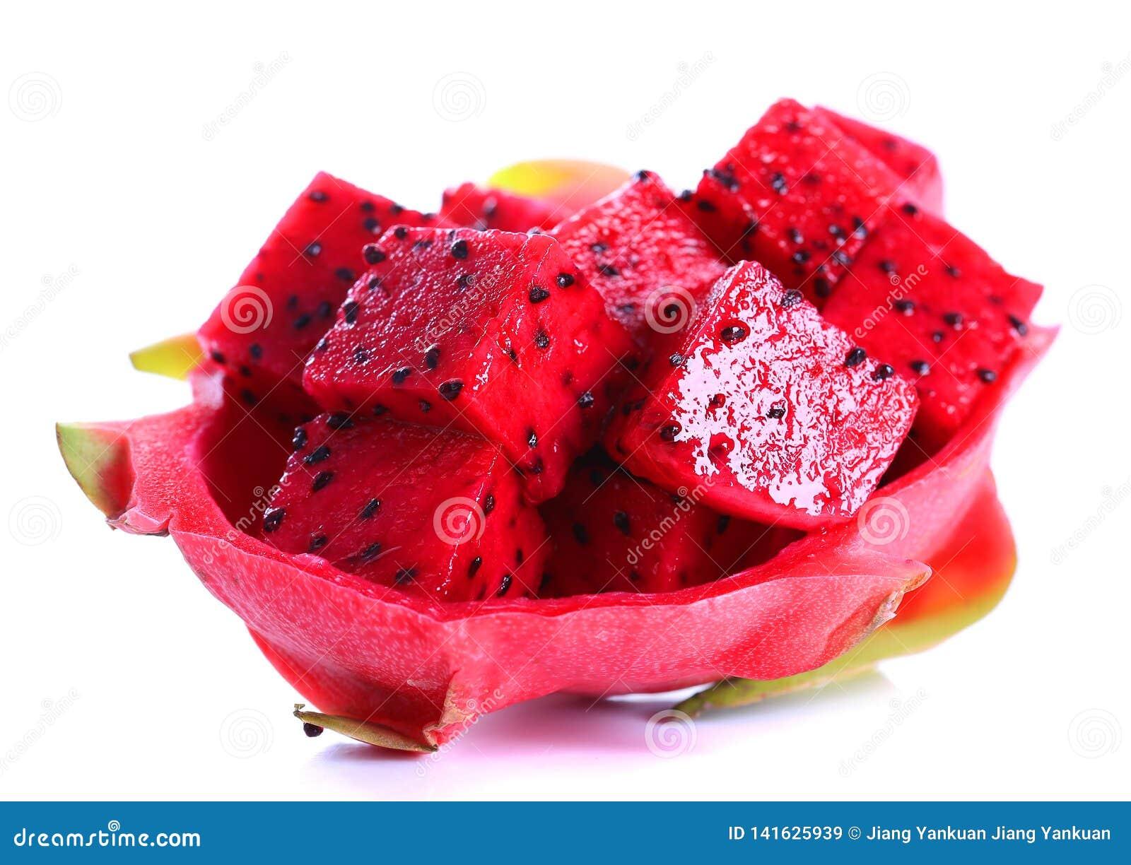 Ripe pitaya fruit