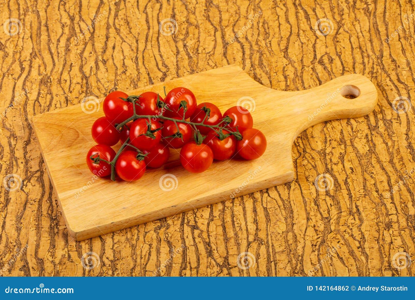 Ripe tomato branch