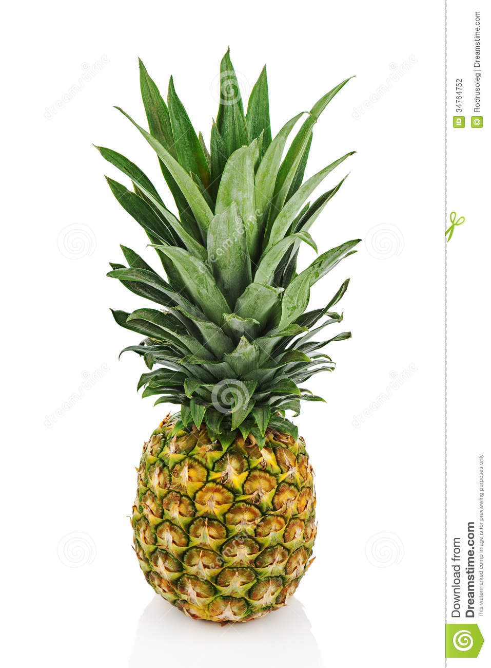 how to cut up a whole pineapple