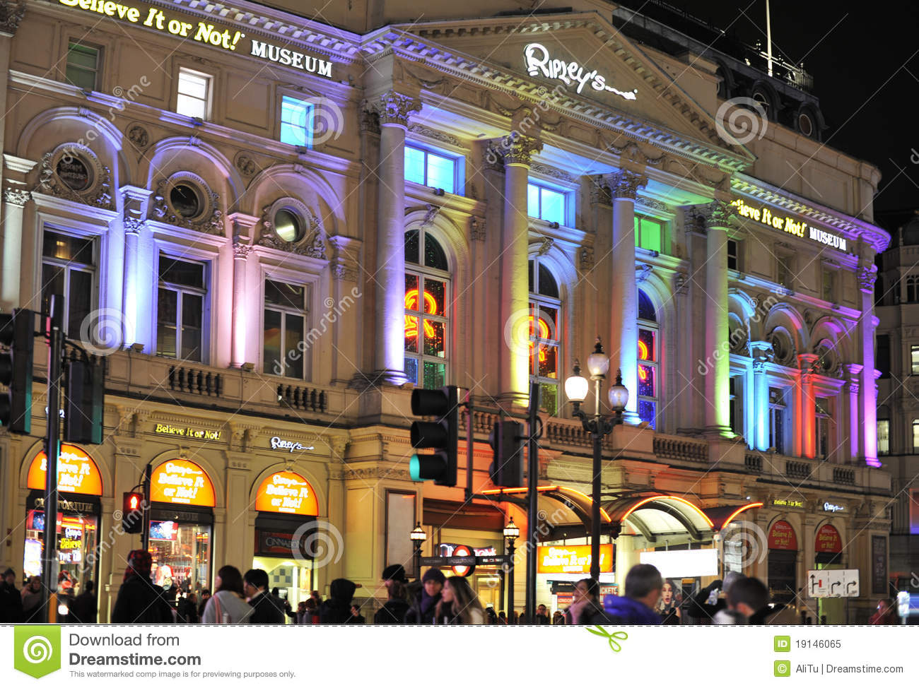 Ripley's Believe It or Not is at Piccadilly in the centre of London. The attraction houses more than unusual artefacts from around the world inspired by the travels and .