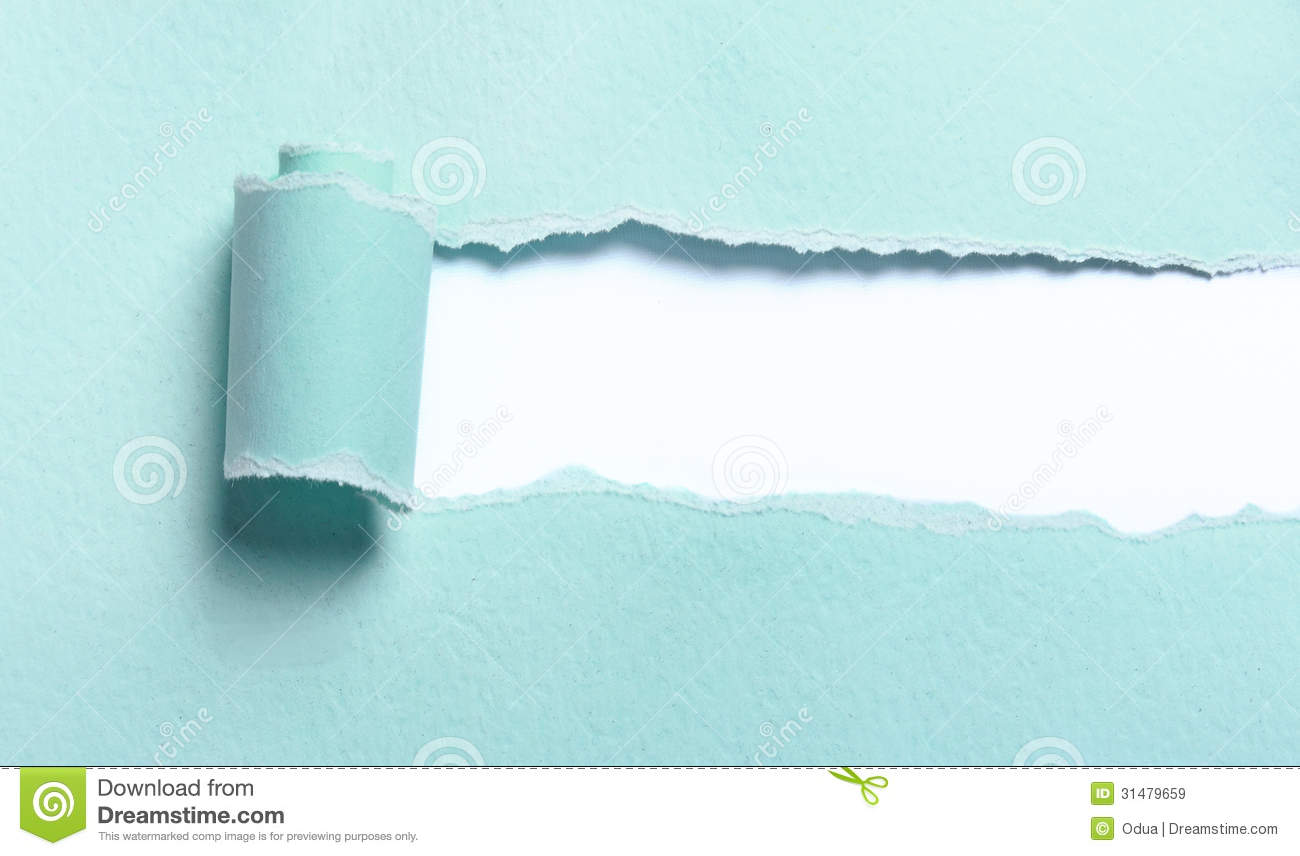 Ripped Light Blue Paper Royalty Free Stock Images - Image ...