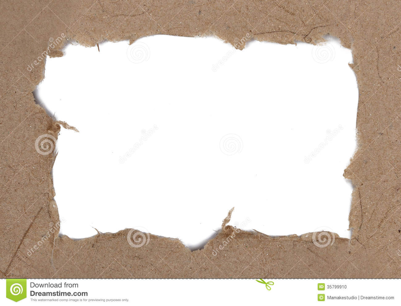 Ripped Paper Stock Photo - Image: 35799910