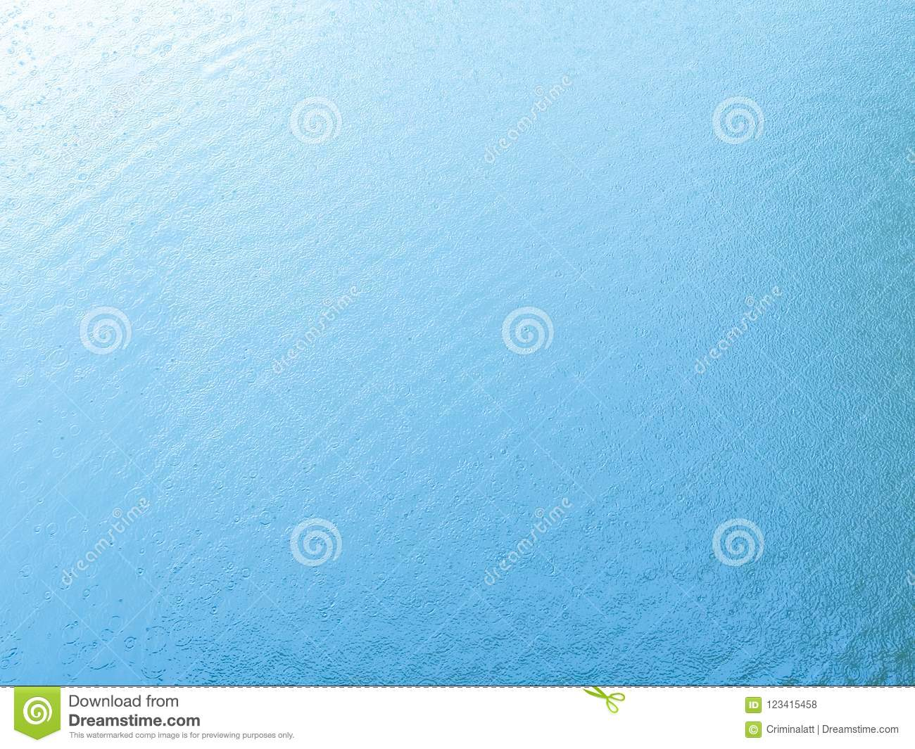 Rippling blue water by rain background