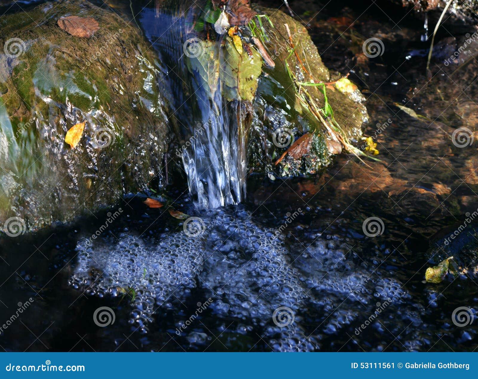 Rippling spring creek