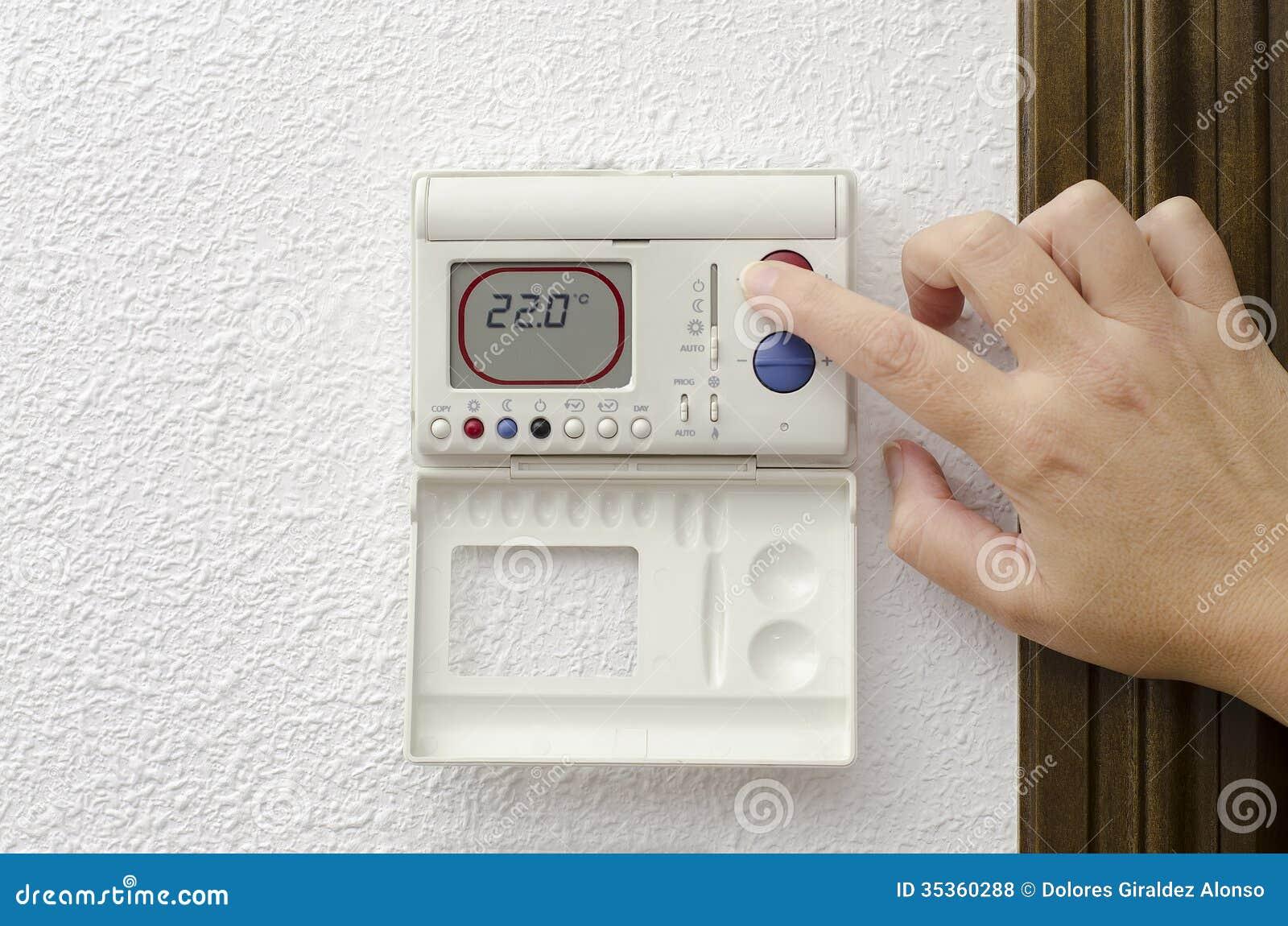 Riscaldamento domestico e raffreddarsi fotografia stock immagine