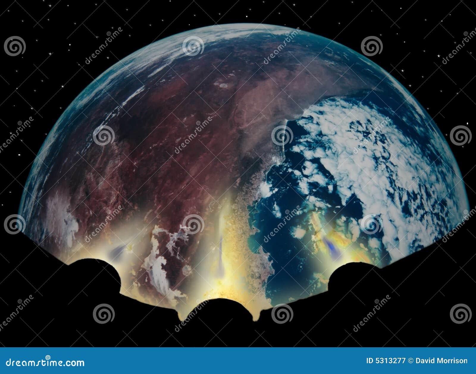 Download Riscaldamento globale 5 immagine stock. Immagine di andare - 5313277