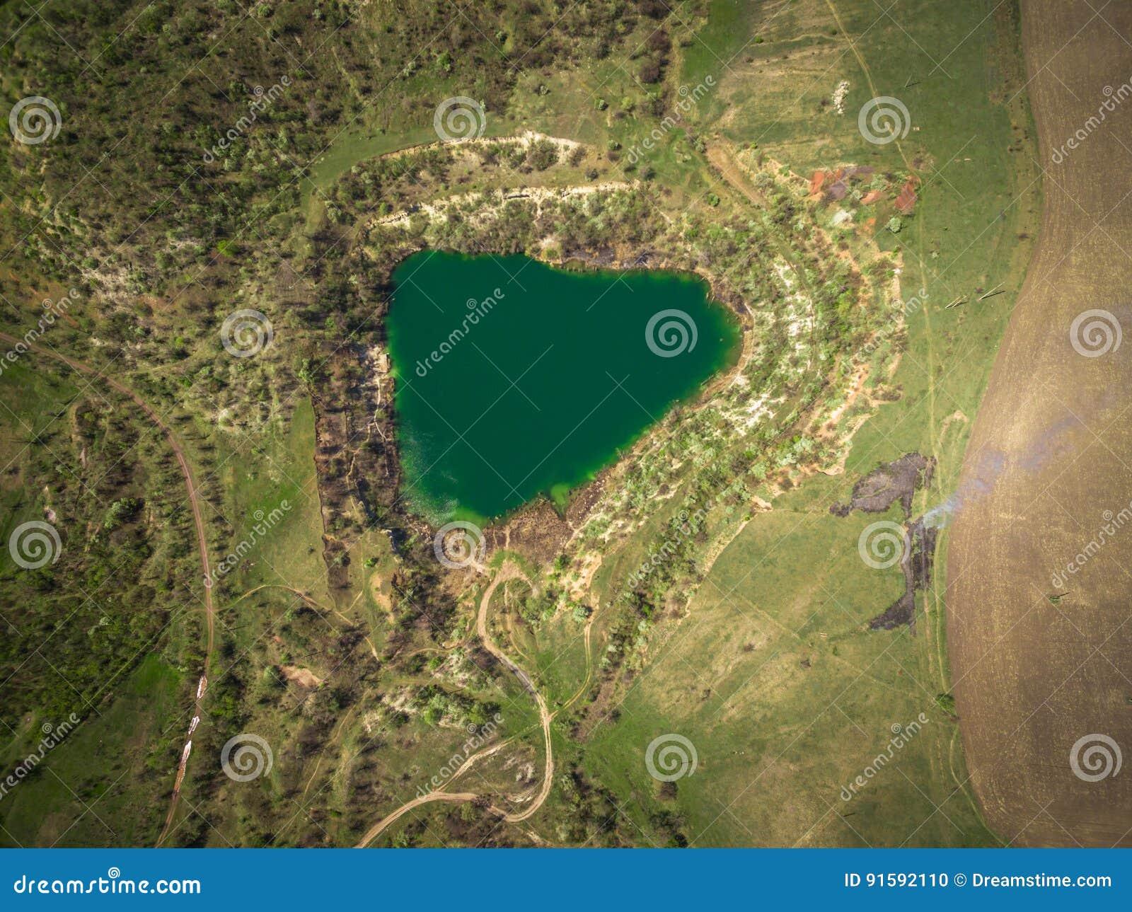 Riserva del lago quarry