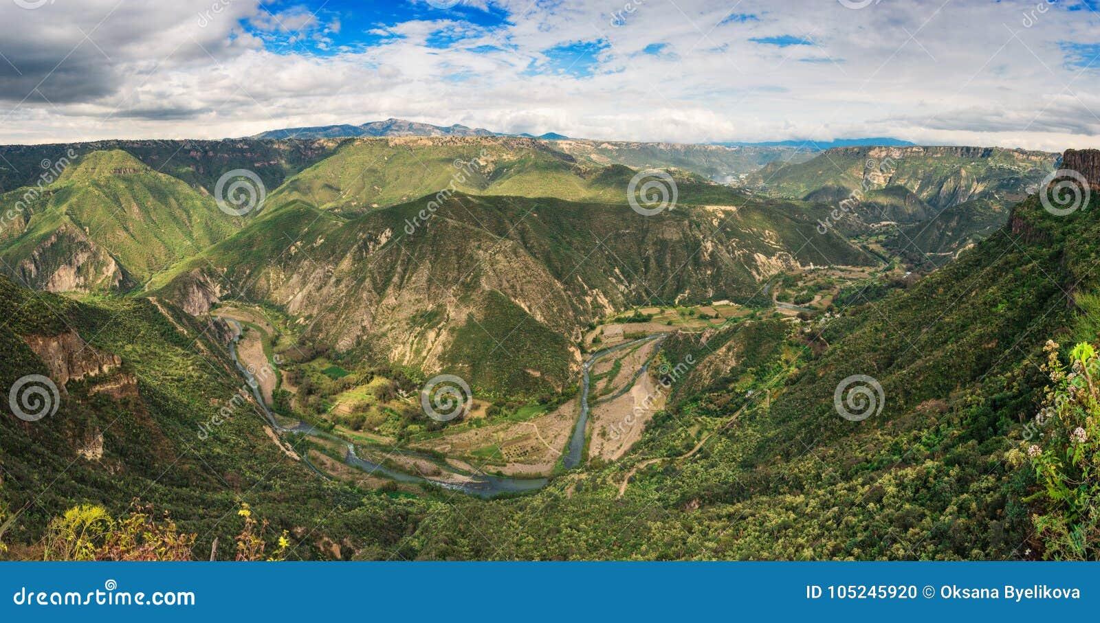 Riserva di biosfera del canyon di Metztitlan, Messico