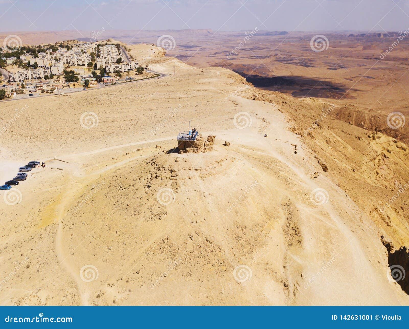 Riserva di Ramon Nature, Mitzpe Ramon, deserto di Negev, Israele