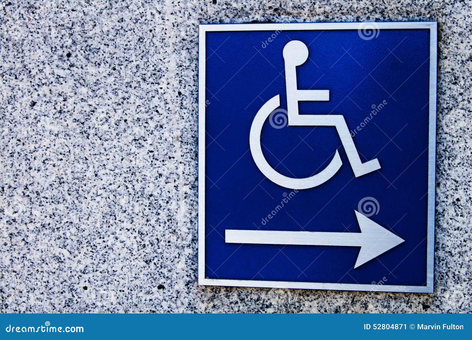 Riservato soltanto agli handicappati
