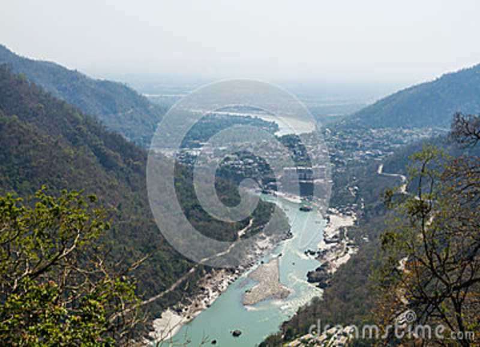 Rishikesh dolina