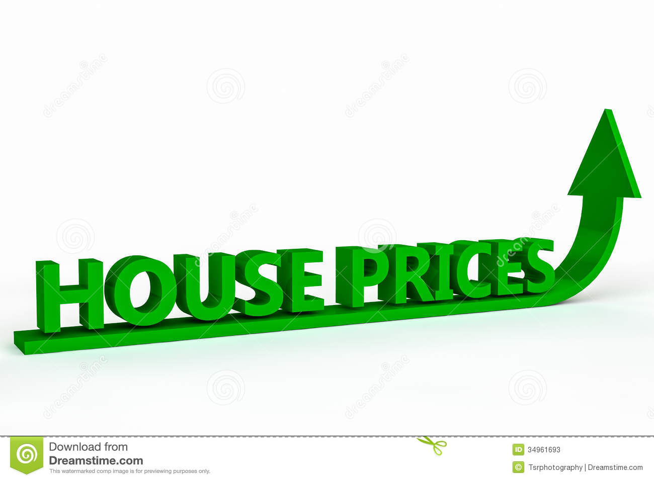 Rising House Prices Stock Photos Image 34961693