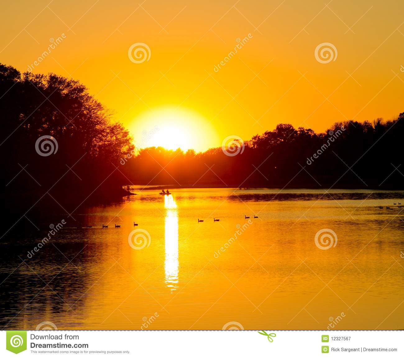 Rising Sun Royalty Free Stock Photography - Image: 12327567