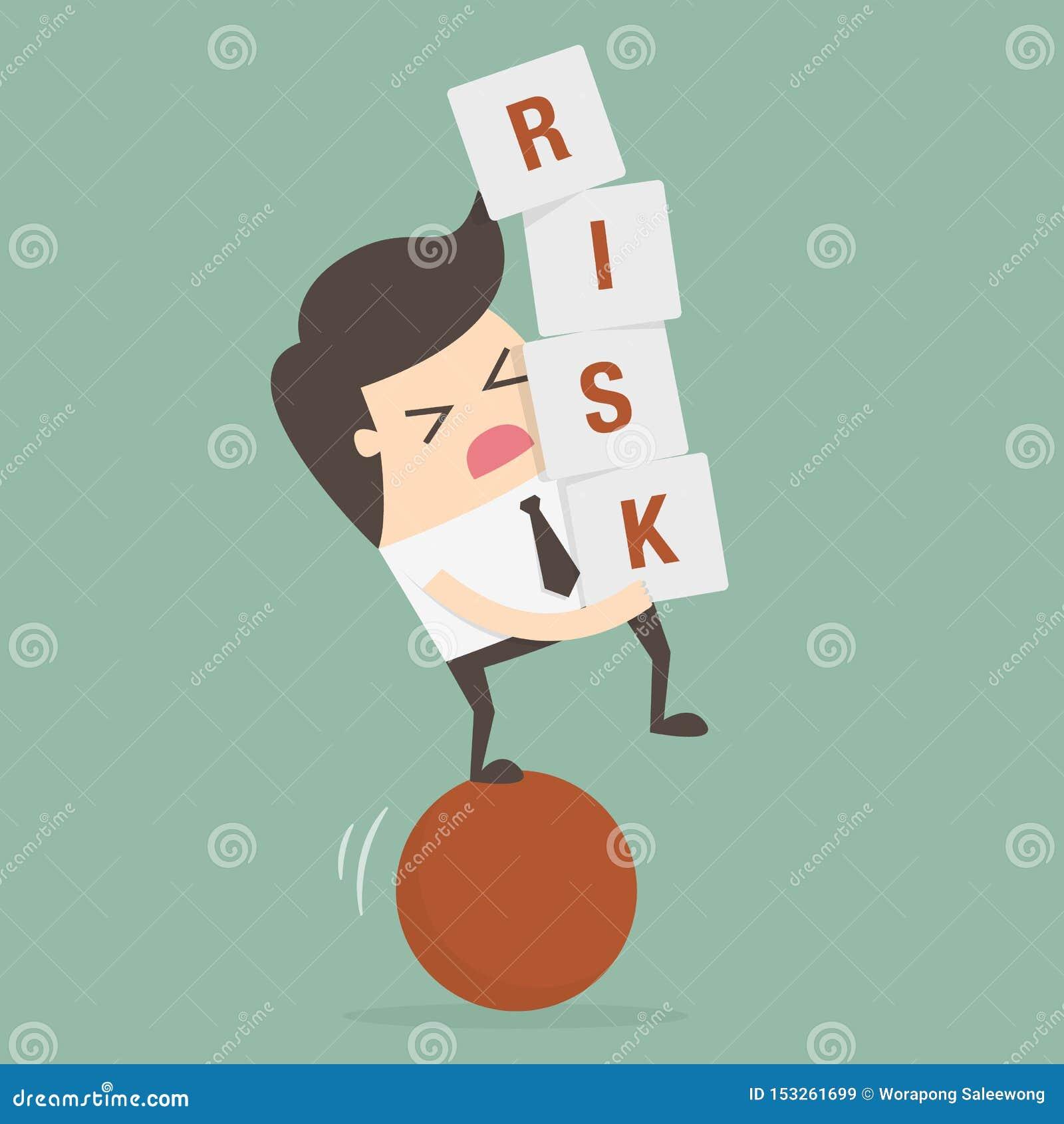 Risk Business Concept Illustration. Idea Concept.
