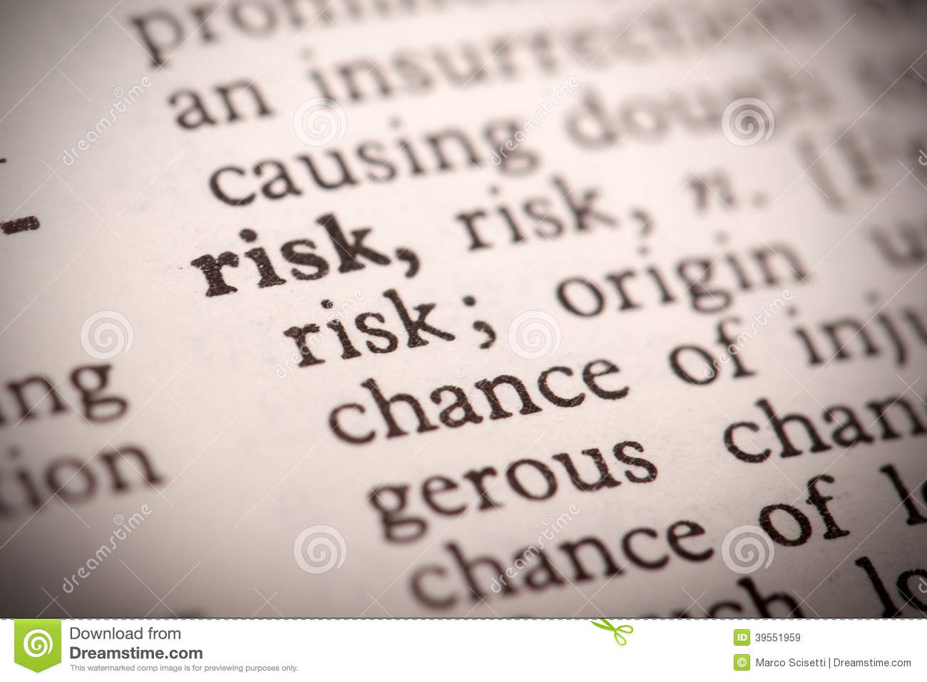 a definition and the use of the word risk Lack of peer and family support is associated with an increased risk of alcoholism jellinek's definition restricted the use of the word alcoholism to those.
