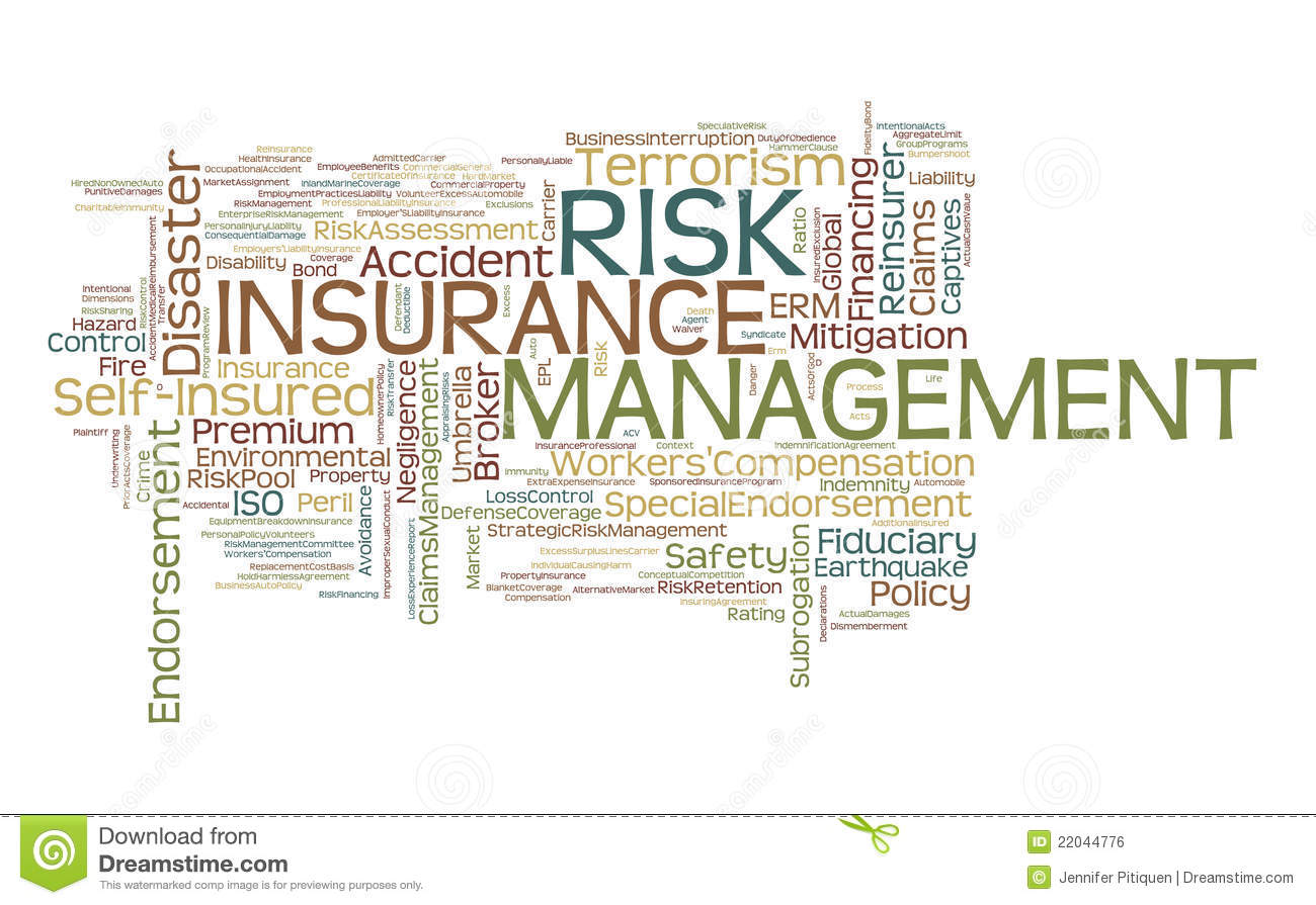 insurance risk The mission of the state insurance and risk management board is to protect  assets of the state of connecticut through a comprehensive and cost effective.