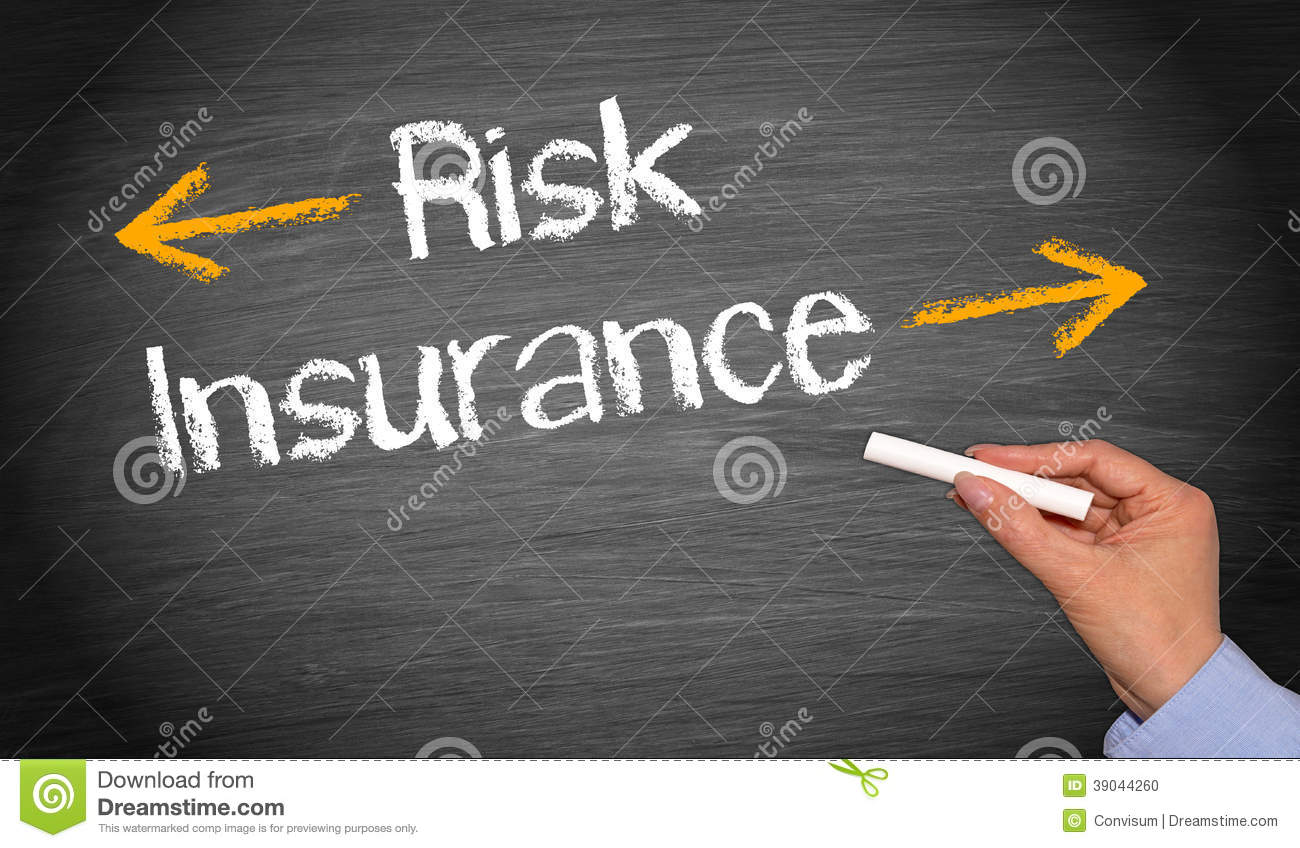 Risk And Insurance Stock Photo Image Of Black Hand