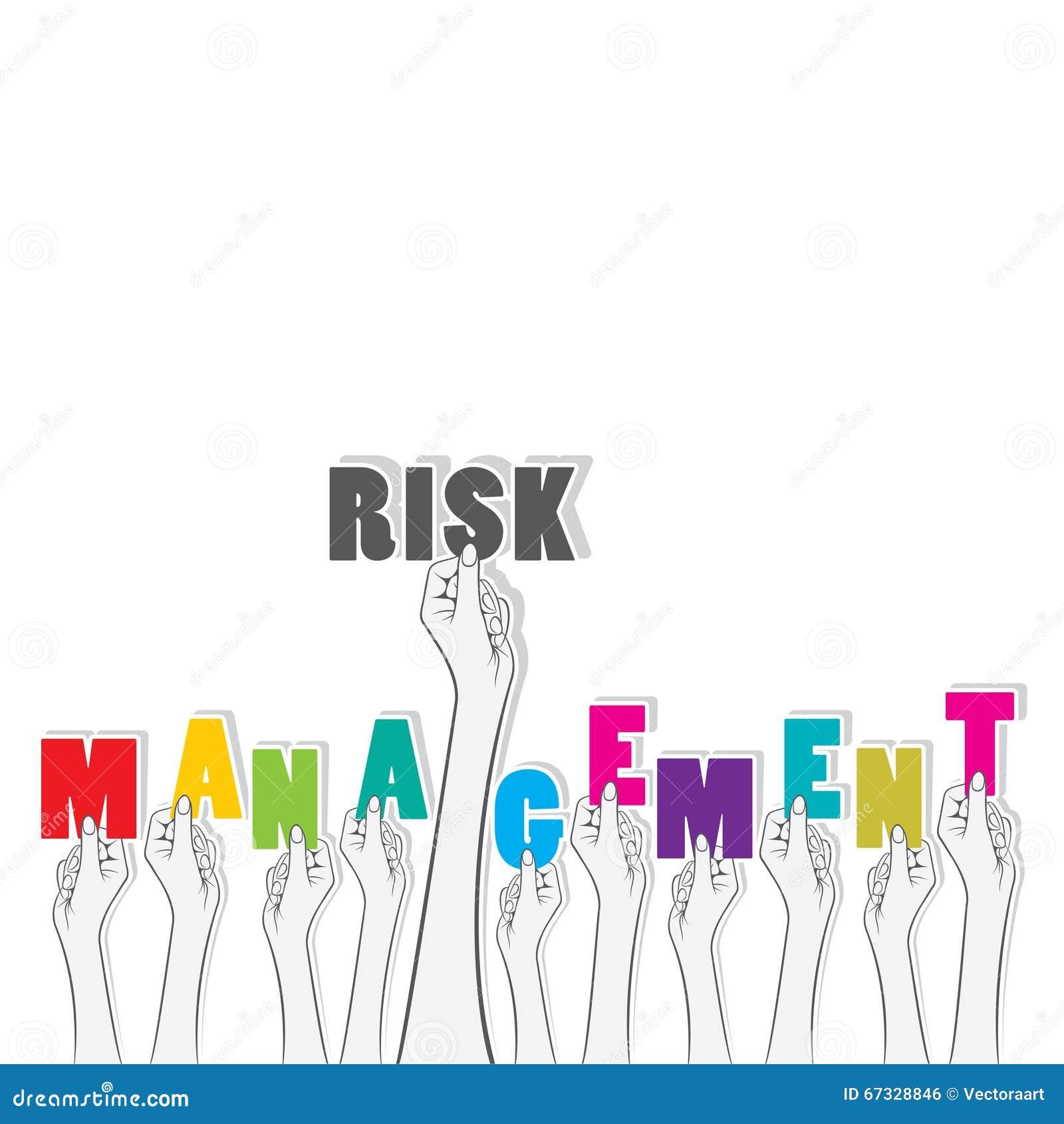 Risk management text banner design stock vector image - Text banner design ...